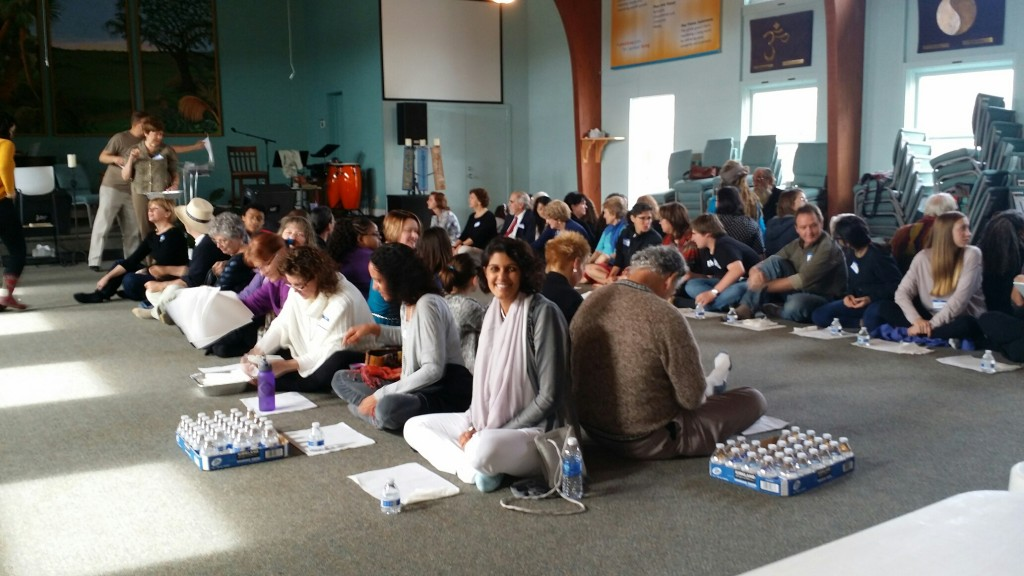 Our friends at Unity North Charleston kicked off their year of interfaith with Simran Singh (daughter of our good friends Ajit and Raj Randhawa) as their speaker (pictured front smiling at camera) and followed by a traditional Sikh langar meal.