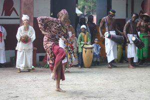 Oyotunji Yoruba Villabe in Sheldon, S.C.