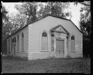 St. James' Church, Goose Creek, Berkeley County, South Carolina. 1938 photograph by Johnston, Frances Benjamin, 1864-1952. Library of Congress Prints and Photographs Division Washington, D.C.